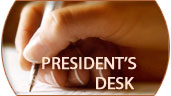President's Desk - CTX Lifescience Pvt Ltd